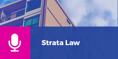 Podcasts Strata Law
